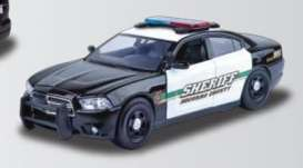 Dodge  - 2011 black/white - 1:24 - Motor Max - mmax76949 | The Diecast Company