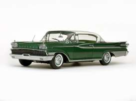 Mercury  - 1959 Marble white/sherwood green - 1:18 - SunStar - 5164 - sun5164 | The Diecast Company