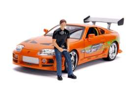 Toyota  - Supra F&F 1995 orange - 1:18 - Jada Toys - 31139 - jada31139 | The Diecast Company