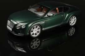 Bentley  - 2016 verdant (green) - 1:18 - Paragon - 98222L - para98222L | The Diecast Company