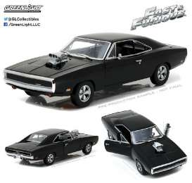 Dodge  - Charger F&F  1970 black - 1:18 - GreenLight - 19027 - gl19027 | The Diecast Company