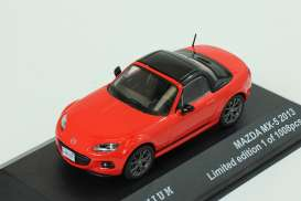 Mazda  - 2013 red/black - 1:43 - Triple9 Premium - T9P10003 | The Diecast Company
