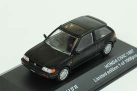 Honda  - 1987 black - 1:43 - Triple9 Premium - T9P10004 | The Diecast Company