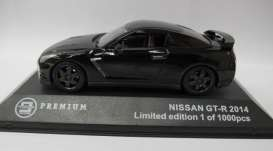 Nissan  - 2014 black - 1:43 - Triple9 Premium - T9P10007 | The Diecast Company