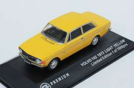 Volvo  - 1973 light yellow - 1:43 - Triple9 Premium - T9P10013 | The Diecast Company