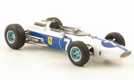 Ferrari  - 1964 white/blue - 1:18 - Triple9 Collection - T9E1800500 | The Diecast Company