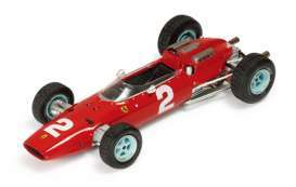 Ferrari  - 1964 red - 1:18 - Triple9 Collection - T9E1800503 | The Diecast Company