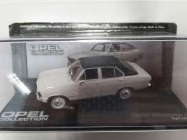 Opel  - 1967 white/black - 1:43 - Magazine Models - OolymA - MagOolymA | The Diecast Company
