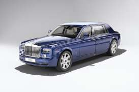 Rolls Royce  - 2015 metropolitan blue - 1:18 - Kyosho - kyo8841Mb | The Diecast Company