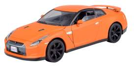 Motor Max - Nissan  - mmax79507o : 2008 Nissan Skyline GTR R35 *satin series*, matt orange