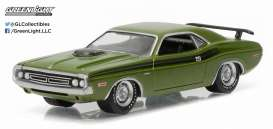 Dodge  - 1971 green/black - 1:64 - GreenLight - 13160C - gl13160C | The Diecast Company