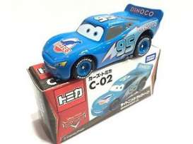 Cars  - blue - Tomica - toC02 | The Diecast Company