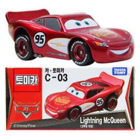 Cars  - red - Tomica - toC03 | The Diecast Company