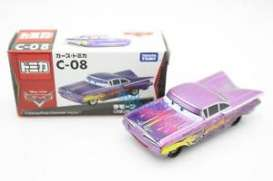 Cars Chevrolet - purple - Tomica - toC08 | The Diecast Company