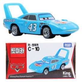 Cars Plymouth - blue - Tomica - toC10 | The Diecast Company