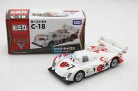 Cars  - white - Tomica - toC18 | The Diecast Company