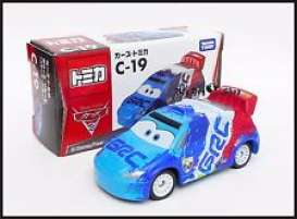 Cars  - blue/white/red - Tomica - toC19 | The Diecast Company