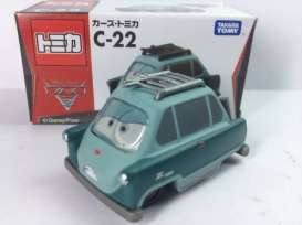 Cars  - mint green - Tomica - toC22 | The Diecast Company