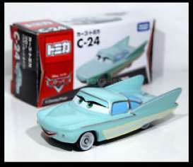 Cars  - lightblue - Tomica - toC24 | The Diecast Company