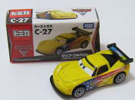 Cars Corvette - yellow - Tomica - toC27 | The Diecast Company