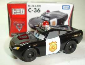 Cars  - black - Tomica - toC36 | The Diecast Company
