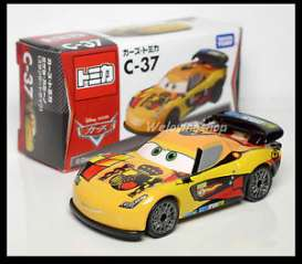 Cars  - yellow - Tomica - toC37 | The Diecast Company