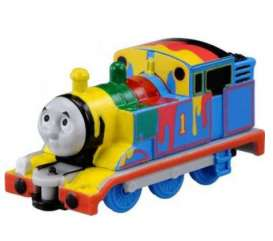 Thomas & Friends  - blue yellow green red black  - Tomica - toT08 | The Diecast Company
