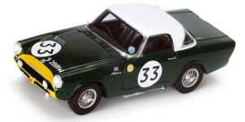 Sunbeam Alpine - 1963 green - 1:43 - Spark - s4765 - spas4765 | The Diecast Company