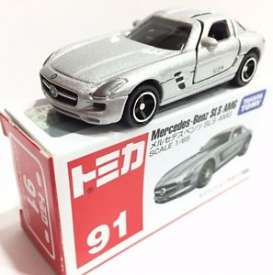 Mercedes Benz  - silver  - 1:65 - Tomica - toTA091 | The Diecast Company