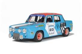 Renault  - 1980 blue race - 1:18 - OttOmobile Miniatures - otto186 | The Diecast Company