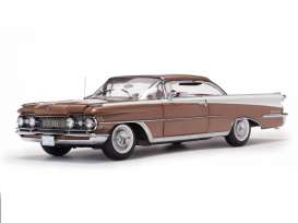 Oldsmobile  - 1959 brons mist/ polaris white - 1:18 - SunStar - sun5244 | The Diecast Company