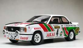Opel  - Ascona 400 #4 1981 white/red/green - 1:18 - SunStar - 5370 - sun5370 | The Diecast Company