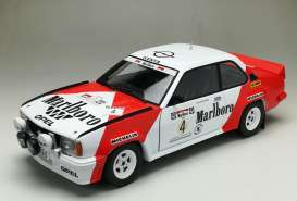 Opel  - Ascona 400 #4 1984 white/red - 1:18 - SunStar - 5371 - sun5371 | The Diecast Company