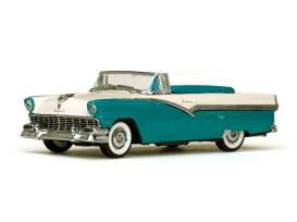 Ford  - 1956 peacock blue/ colonial white - 1:43 - Vitesse SunStar - vss36279 | The Diecast Company