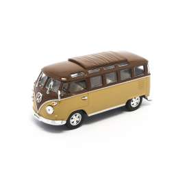 Volkswagen  - 1962 brown/light brown - 1:43 - Lucky Diecast - ldc43209bn | The Diecast Company