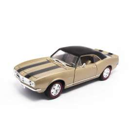 Chevrolet  - 1968 gold/black stripes - 1:18 - Lucky Diecast - ldc92188gd | The Diecast Company