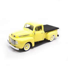 Ford  - 1948 yellow - 1:18 - Lucky Diecast - ldc92218y | The Diecast Company