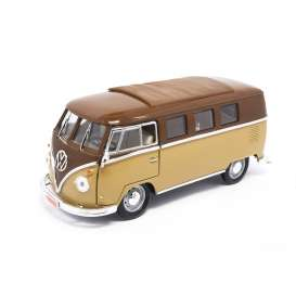 Volkswagen  - 1962 brown/gold - 1:18 - Lucky Diecast - ldc92328bn | The Diecast Company