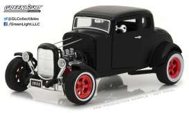 Ford  - 1932 matt black - 1:18 - GreenLight - gl12975 | The Diecast Company
