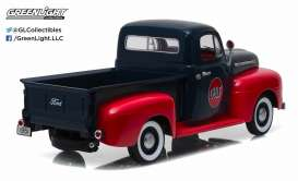 Ford  - F1 pick-up 1951 dark blue/red - 1:18 - GreenLight - 12978 - gl12978 | The Diecast Company