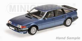 Rover  - 1986 blue metallic - 1:18 - Minichamps - mc107138400 | The Diecast Company