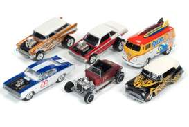 Assortment/ Mix  - various - 1:64 - Johnny Lightning - SF002A - JLSF002A | The Diecast Company