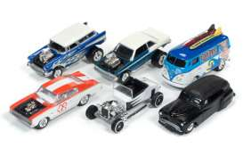Assortment/ Mix  - various - 1:64 - Johnny Lightning - JLSF002B | The Diecast Company