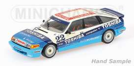 Rover  - 1984 white/blue - 1:18 - Minichamps - 107861322 - mc107861322 | The Diecast Company