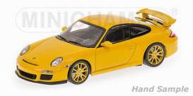 Porsche  - 2009 yellow - 1:43 - Minichamps - 400068022 - mc400068022 | The Diecast Company