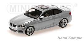 BMW  - 2013 silver - 1:43 - Minichamps - 410022020 - mc410022020 | The Diecast Company