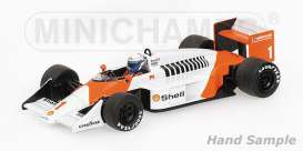 Minichamps - McLaren  - mc537871801 : 1987 McLaren TAG MP4/3 Alain Prost, red/white