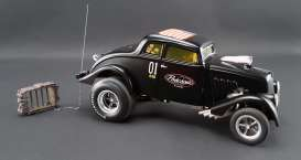 Willys  - 1933 black - 1:18 - Acme Diecast - acme1800907 | The Diecast Company