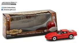 Chevrolet  - 1985 red - 1:43 - GreenLight - 86497 - gl86497 | The Diecast Company