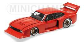 Minichamps - Ford  - mc100798600 : 1979 Ford Capri Turbo GRP. 5, red